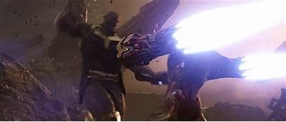 Iron Thanos Infinity War Captain Avengers Fight