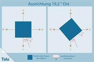 19 2 Grad Ost : satellitensch ssel ausrichten selbstgemacht in 6 schritten ~ Frokenaadalensverden.com Haus und Dekorationen