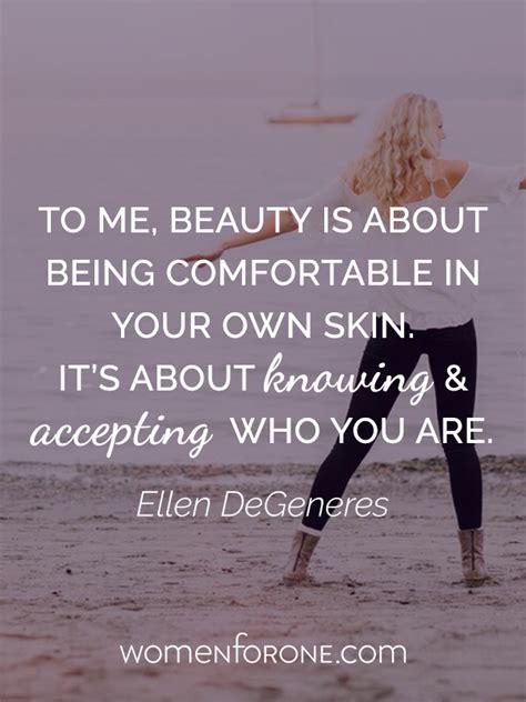 quotes   comfortable    skin quotesgram