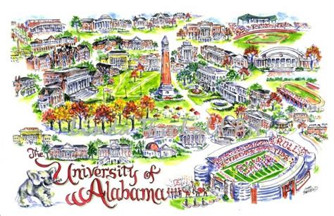 University of Alabama Print