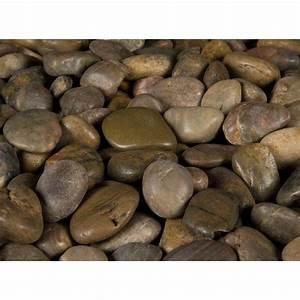 MSI 40 lb Imperial Beach River Rock Bag-LPEBMIMP5POL40
