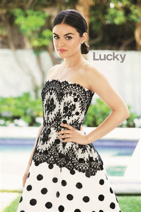Lucy Hale on Cover Magazine Photoshoot For Lucky Magazine ...