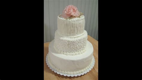 do it yourself wedding cake for under 50 youtube