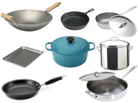 pans pots cooking kitchen equipment cookware essential essentials supplies food seriouseats pan utensils types cook tools different baking lab utensil