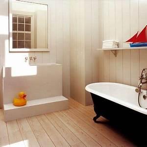 Decouvrez les tendances deco 2013 for Lambris dans salle de bain