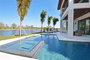 belle maison de vacances exotiques avec vue sur leau en With superior plan de belle maison 3 maison contemporaine en floride au design luxueux et
