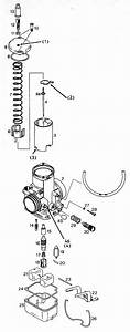 Bing 54 Carburetor Parts Used On The Rotax 377  447  503