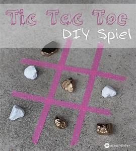Tic Tac Toe Spiel : diy tic tac toe spiel spiele selberbasteln ~ Orissabook.com Haus und Dekorationen