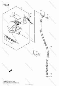 Suzuki Motorcycle 2007 Oem Parts Diagram For Front Master