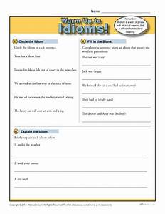 Idioms Warm Up Activity