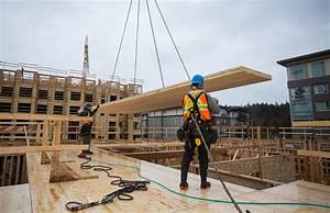 How cross-laminated timber buildings are built