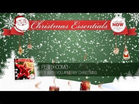 perry como christmas lyrics perry como we wish you a merry christmas k pop lyrics song