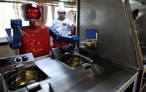 les robots de cuisine les robots cartonnent dans les restaurants chinois