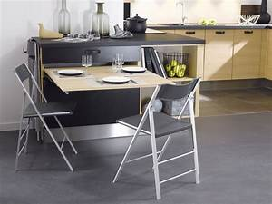 Table Cuisine Petit Espace : table cuisine avec tiroir ~ Teatrodelosmanantiales.com Idées de Décoration