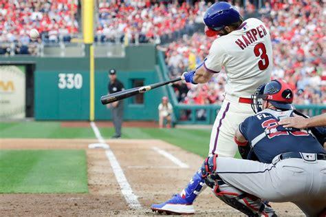 bryce harper crushes  home run  phillies