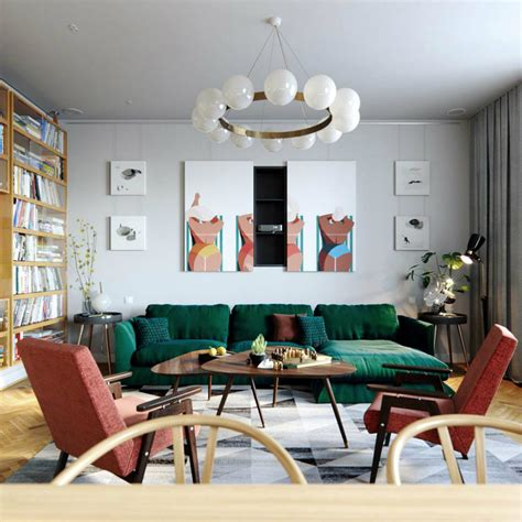 7 Tips to Create a Mid Century Modern Living Room