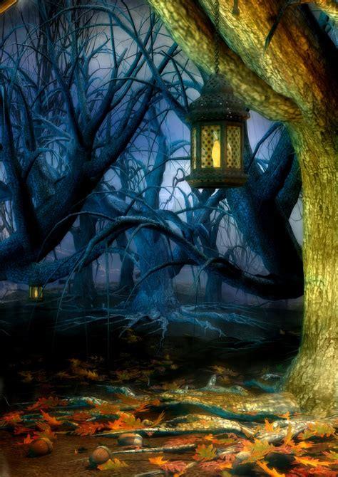 fantasy woodland background  meganimiri  deviantart