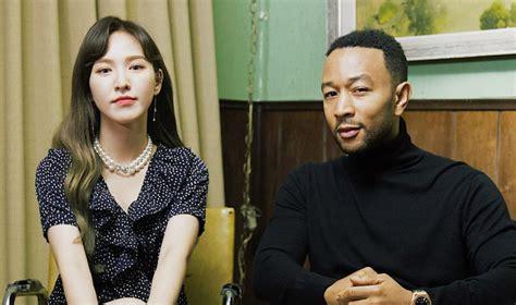 """Red Velvet's Wendy And John Legend Are """"written In"""