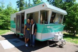 Vintage Terry Campers Travel Trailer