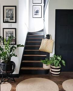 Black, Painted, Stairs
