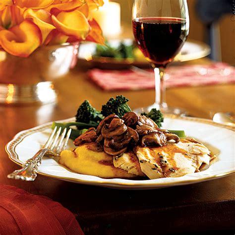 fancy dinners elegant chicken recipes cooking light