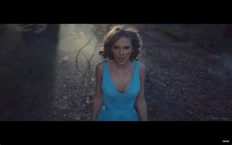 Taylor Swift Style: Out of the Woods Blue Dress | Fashion ...
