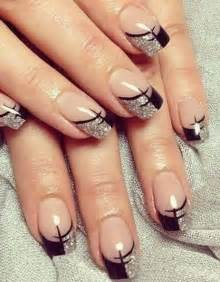 Gel nails french manicure tip nail designs in addition