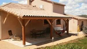 Couverture De Terrasse : terrasse charpente traditionnelle fargal ~ Edinachiropracticcenter.com Idées de Décoration