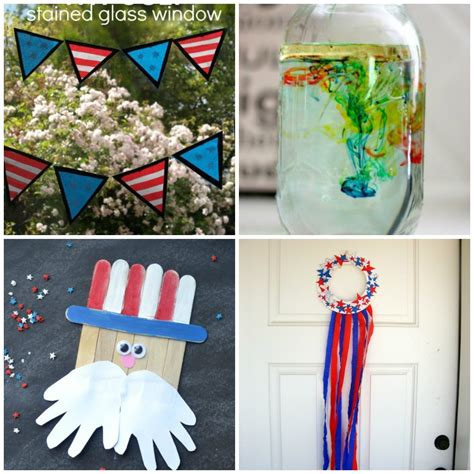 16 Fun And Easy Fourth Of July Crafts For Kids  I Heart