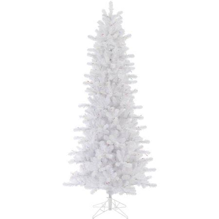 unlit white trees slim vickerman unlit 6 5 white pine artificial tree slim artificial