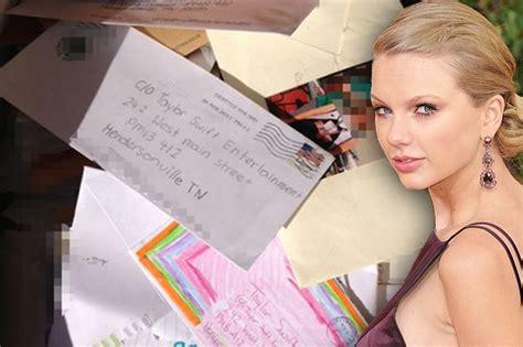 taylor swift fan mail address taylor swift fan mail found dumped in a skip after being