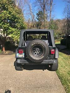 2001 Jeep Wrangler 6 Cylinder Manual Transmission