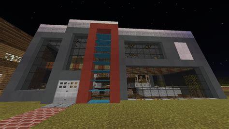 minecraft high tech modern house   youtube