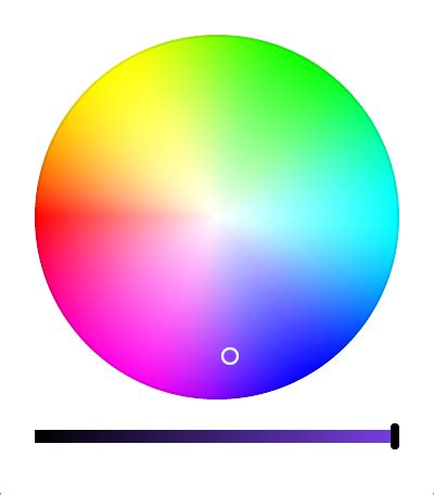 from color scheme to color picker html javascript