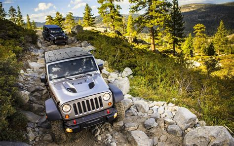 Jeep Wrangler Offroading, Hd Cars, 4k Wallpapers, Images