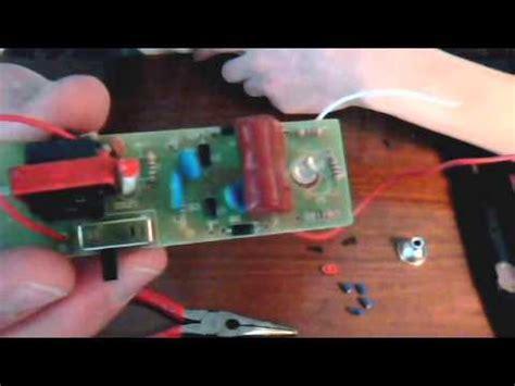 how to make a stun gun parts 1 and 2