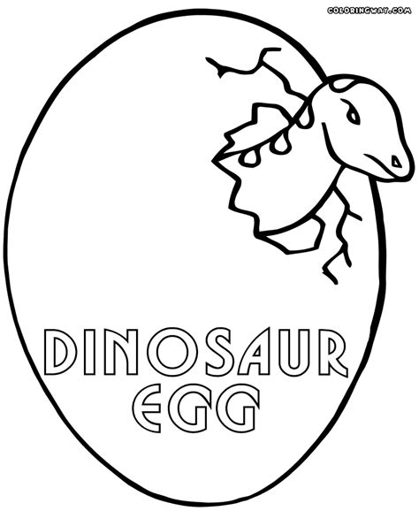 coloring eggs dinosaur eggs coloring pages coloring pages to