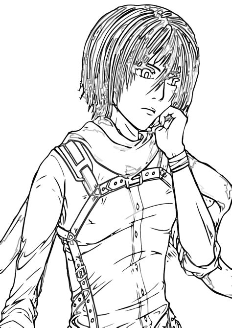 attack  titan coloring pages coloring pages    print