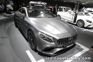 Mercedes S Coupe : 2018 mercedes amg s class coupe cabriolet iaa 2017 live ~ Melissatoandfro.com Idées de Décoration