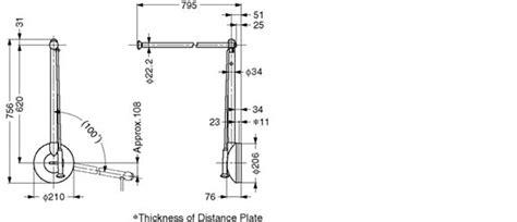 closet rod lift mechanism tas side mounted pull
