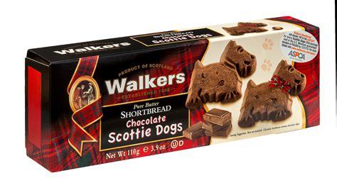 chocolate scottie dog shortbread cookie walker walkers dogs introduces cookies scotties friend