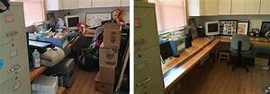 Reclaiming, The, Desk, A, Home, Office, Before, And, After