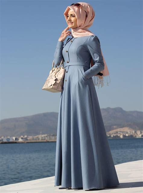 dress tunik simple plain flare abaya make sophisticated