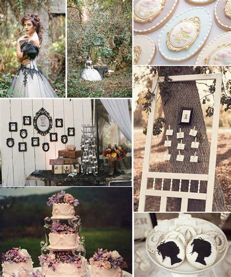 Wedding Inspirationvictorian Vintage Wedding Theme