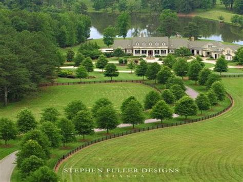 colonial homes floor plans tree top view aerial view tree lined driveways