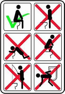 U0026quot Funny Toilet Instructions U0026quot  Poster By Limitlezz