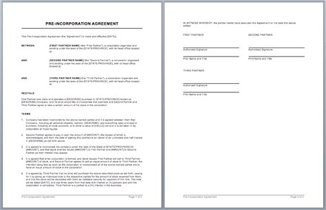 sales contract template word templates