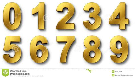 gold alphabet 3d letters stock photography image 29339742 nnumbers in gold stock illustration illustration of 75864