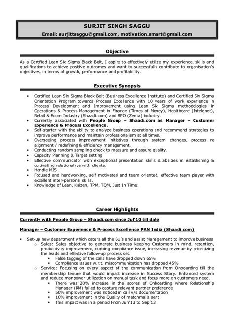 customer experience manager resume sle resume