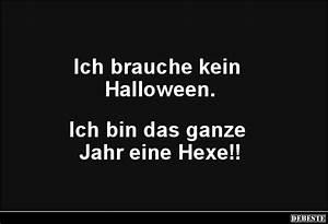 Lustige Halloween Sprüche : ich brauche kein halloween lustige bilder spr che witze echt lustig ~ Frokenaadalensverden.com Haus und Dekorationen